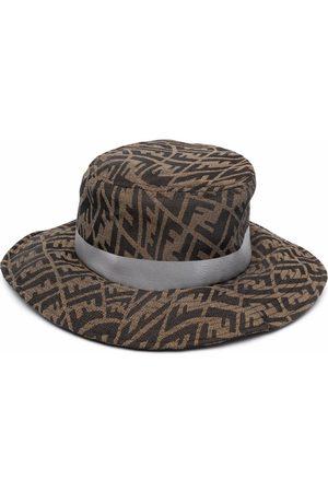 Fendi Men Hats - FF Vertigo-motif hat