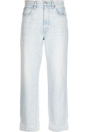 SLVRLAKE Women Tapered - Distressed tapered jeans