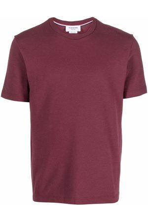 Thom Browne Men Short Sleeve - Round-neck short-sleeve T-shirt