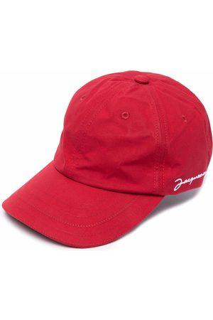 Jacquemus Men Caps - Embroidered logo cap