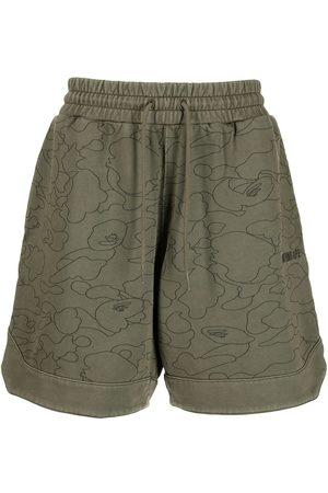 A BATHING APE® Line 1st Camo Sweat shorts