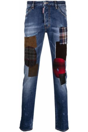 Dsquared2 Men Skinny - Hand Me Down Patch Cool Guy jeans