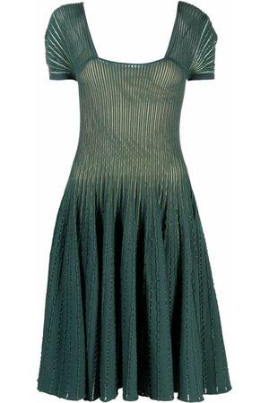 Emporio Armani Women Evening dresses - Rib skater dress
