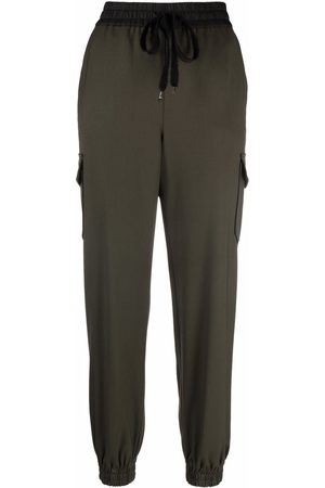 P.a.r.o.s.h. Elasticated drawstring trousers