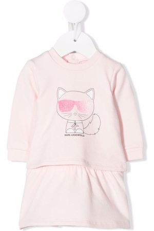 Karl Lagerfeld Baby Casual Dresses - Choupette sweater dress