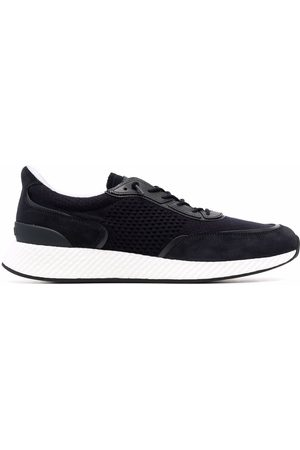 Z Zegna Panelled mesh low-top sneakers