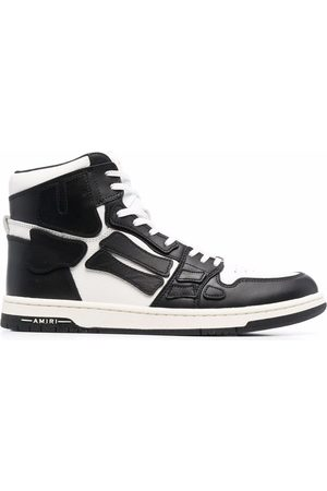 AMIRI Patch-detail high top sneakers