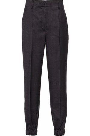 Prada Women Formal Pants - High-waisted tailored trousers