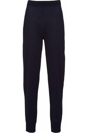 Prada Women Sweatpants - High-waisted jersey joggers