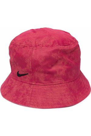 Nike Swoosh logo-detail bucket hat