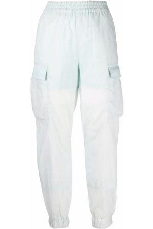 McQ Women Sweatpants - Contrast-panel track trousers
