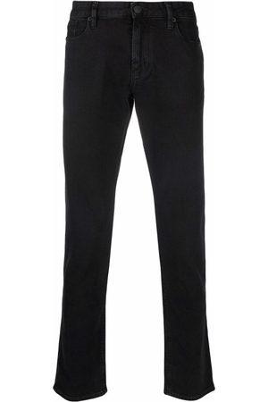 Emporio Armani Low-rise slim-cut jeans