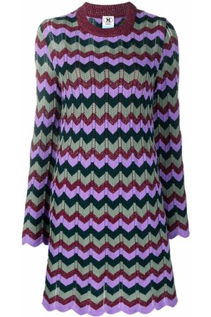M Missoni Women Casual Dresses - Embroidered jumper dress