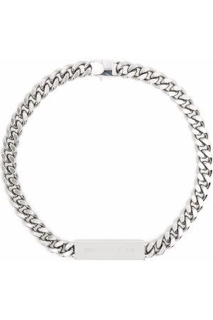 1017 ALYX 9SM Logo chain-link choker necklace