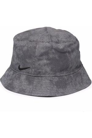 Nike Swoosh logo-detail bucket hat - Grey