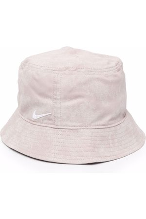 Nike Hats - Swoosh logo-detail bucket hat - Neutrals