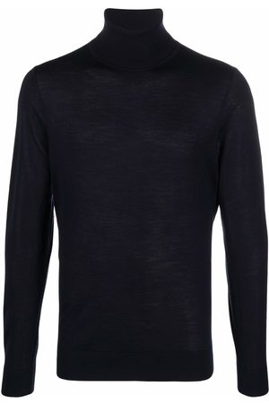 HUGO BOSS Roll-neck knit jumper