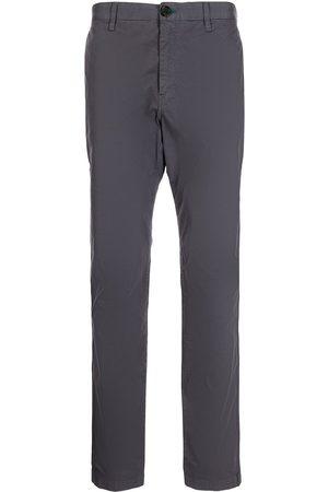 PS Paul Smith Men Chinos - Slim-cut cotton chinos - Grey