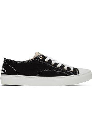 Vivienne Westwood Black Plimsoll Low Sneakers