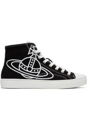 Vivienne Westwood Black Plimsoll High Sneakers