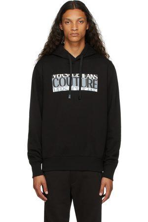 VERSACE Black Logo Hoodie