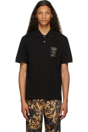 Versace Jeans Couture Black Warranty Label Polo
