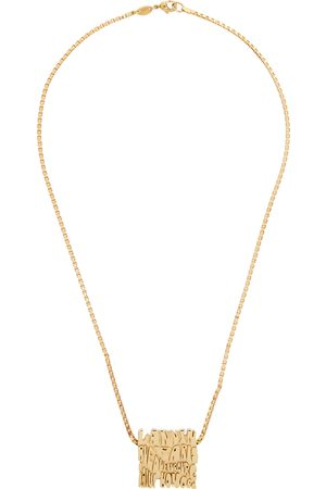 Lanvin Men Necklaces - Gold Short Wave Necklace