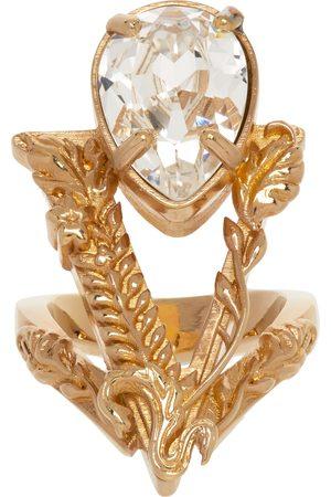 Versace Women Rings - Gold Virtus Ring