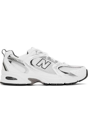 New Balance Men Sneakers - White & Silver 530 Sneakers