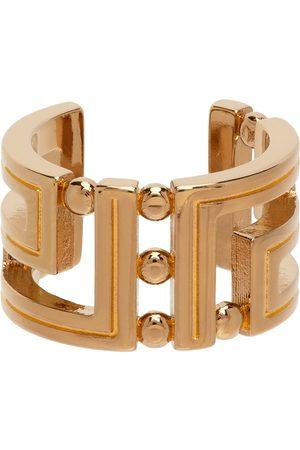 Versace Gold Greca Ring