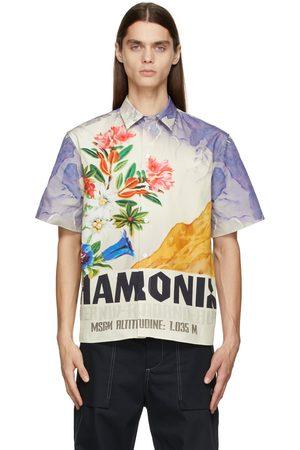 MSGM Multicolor Graphic Short Sleeve Shirt