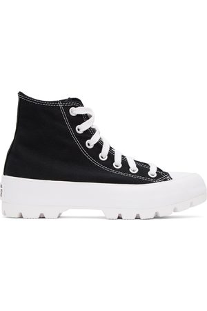 Converse Black Chuck Taylor All Star Lugged High Sneakers