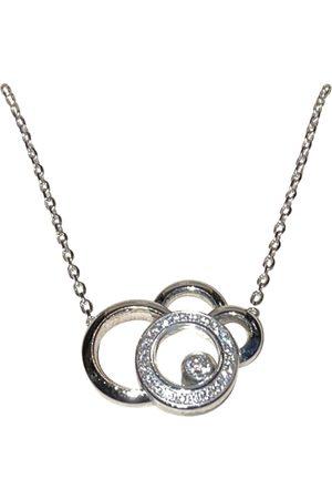 Chopard Happy Diamonds white gold necklace
