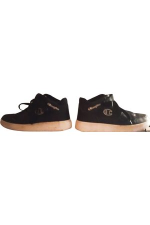 Champion Vegan leather high-top trainers