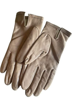 Dior Leather mittens