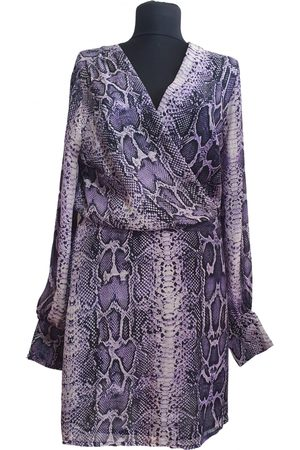WHAT GOES AROUND COMES AROUND Silk mid-length dress