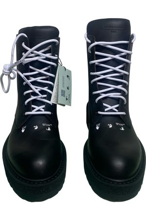 OFF-WHITE Leather boots