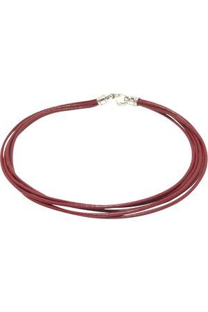 Bvlgari Leather necklace