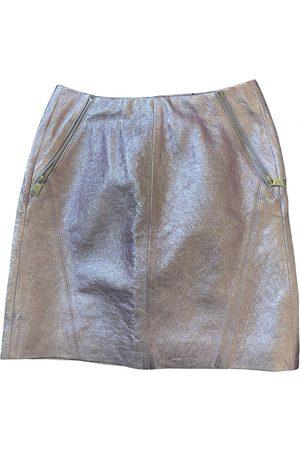 Karl Lagerfeld Leather mini skirt