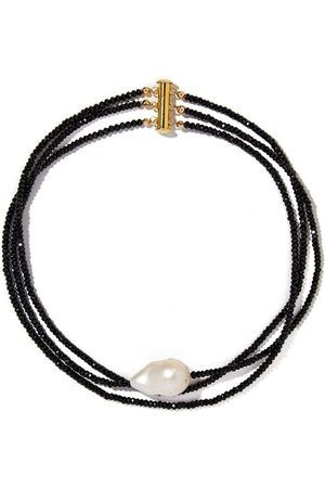 Joie DiGiovanni Women Necklaces - Spinel Triple Strand Gemstone Choker