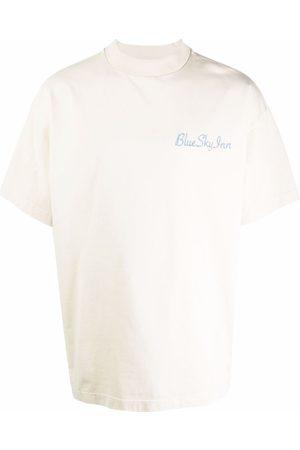 Blue Sky Inn Logo-Print T-Shirt