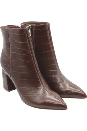 MARC FISHER Women Ankle Boots - Vegan leather western boots
