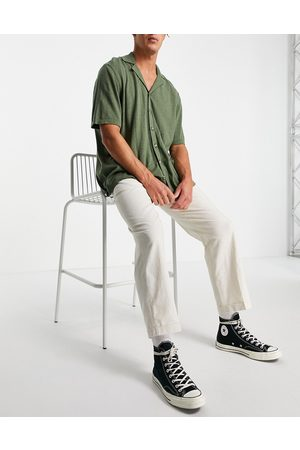 SELECTED Men Chinos - Linen pants loose fit