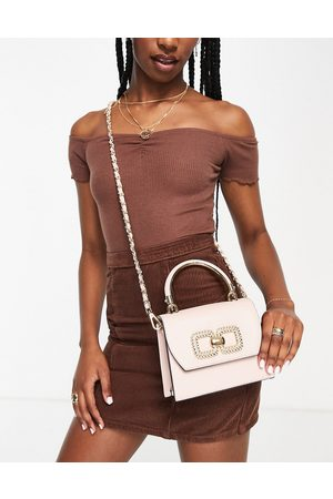 Aldo Women Purses - Oneana cross body bag with gold detail in rose