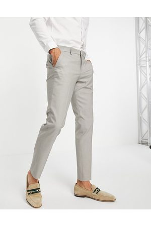 SELECTED Slim suit pant in sand