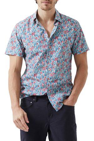 Rodd & Gunn Men's Chedworth Park Floral Short Sleeve Button-Up Shirt