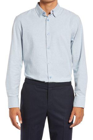 Nordstrom Men's Regular Fit Stretch Cotton Button-Upshirt