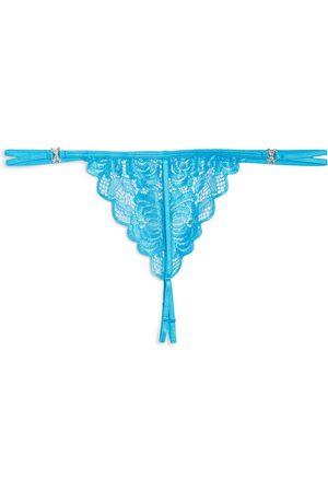 Ann Summers Women's Diamond Kiss Open Gusset Thong