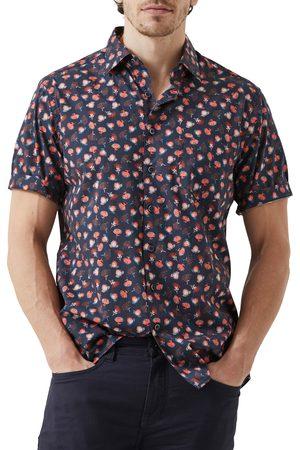 Rodd & Gunn Men Short sleeves - Men's Highstead Original Fit Floral Short Sleeve Button-Up Shirt