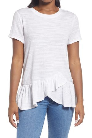 Everleigh Women's Ruffle Hem Tunic Top